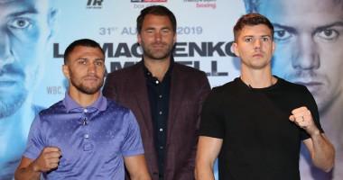 Ломаченко и Кэмпбелл провели вторую дуэль взглядов