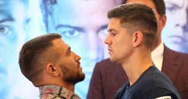 Ломаченко - Кэмпбелл: боксеры провели финальную битву взглядов