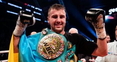 Гвоздик получил именной пояс от WBC