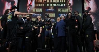 Фьюри - Уайлдер: боксеры показали рекордный вес в карьере