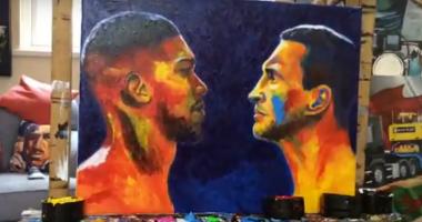 Кличко - Джошуа: британский художник написал картину к бою боксеров
