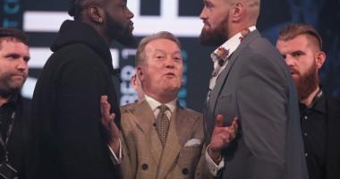Уайлдер – Фьюри: боксеры провели битву взглядов
