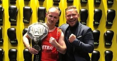 """""""Завтра в бой"""": Алиев проведет дебютный поединок в боксе"""