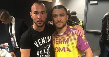 Звонок Ломаченко помог Беспутину завоевать чемпионство