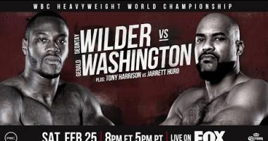 Уайлдер - Вашингтон: Промо видео боя