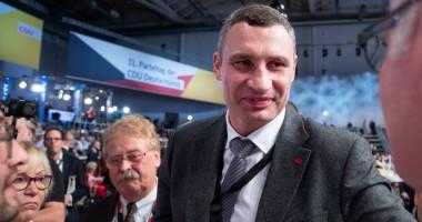 """Виталий Кличко рассмешил своего брата очередным """"шедевром"""" во время форума в Давосе"""
