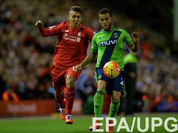 «Ливерпуль» уступил «Саутгемптону» впервом матче полуфинала Кубка британской лиги