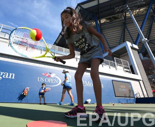 Детский праздник на US Open едва не закончился