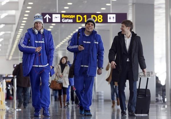 Футболисты Динамо не могут вылететь в Льеж
