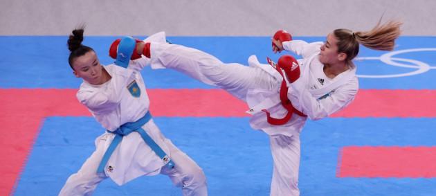Терлюга выиграла группу и гарантировала олимпийскую медаль в каратэ