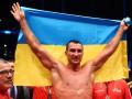 Кличко: Посвящаю свою победу героям, которые борются за независимость Украины