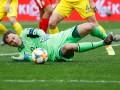 Пятов установил рекорд по пропущенным мячам за сборную Украины