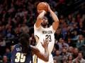 Мощные данки Дэвиса и Уайтсайда – в десятке лучших моментов дня НБА