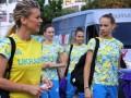 Украинские гимнастки прибыли на Олимпиаду в Рио
