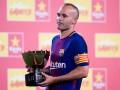 Иньеста планирует вернуться в Барселону, но уже в качестве тренера