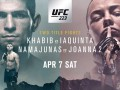 Нурмагомедов – Яквинта: видео онлайн трансляция боя UFC 223