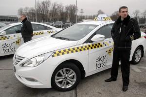 Одни из 300 фирменных бориспольских Sky Taxi Hyundai Sonata в комплектации Comfort