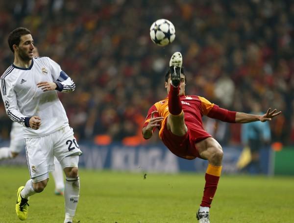Матч Реала и Галатасарая порадовал отличными ракурсами