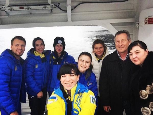 Сборная Украины по тяжелой атлетике уже в Норвегии