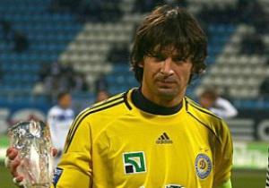 Шовковский провел пятисотый матч за Динамо