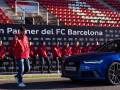 Игроки Барселоны получили в подарок от спонсоров роскошные суперкары