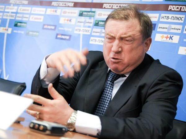 Вячеслав Грозный обвинил своих футболистов в сдаче матча