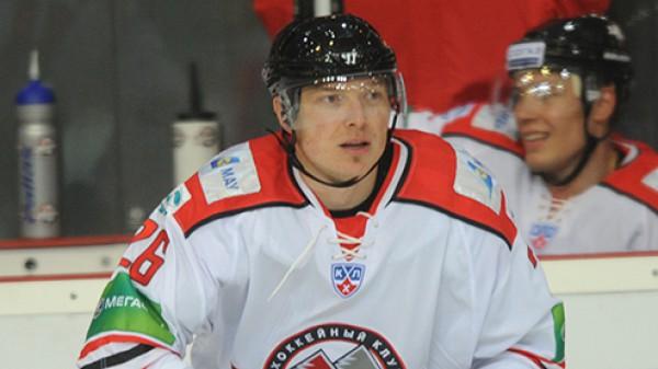 Руслан Федотенко, фото ХК Донбасс
