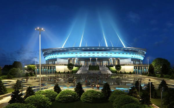 Мифическая Газпром Арена санкт-петербургского Зенита