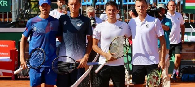 Украинцы проиграли парный матч Кубка Дэвиса