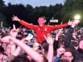 Тысячи литров пива в воздух: Болельщики Уэльса отпраздновали победу