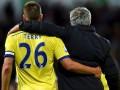Игроки Челси попрощались с Моуринью