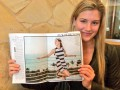 Стильная девушка: Канадская теннисистка снялась для модного журнала (фото)