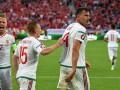 Венгрия сенсационно обыграла Австрию, Драгович получил красную карточку