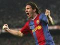 Первый хет-трик Месси за Барселону, который он оформил ровно 10 лет назад