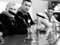 Встреча в Москве. Пресс-конфреренция Кличко и Чарра