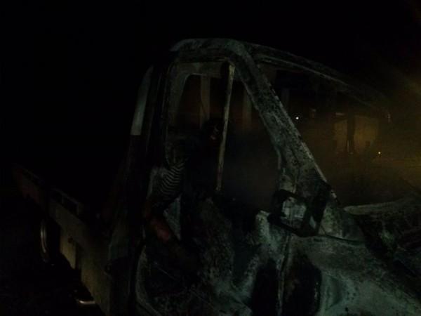 Другая пострадавшая машина