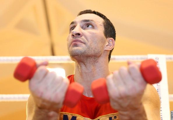 Владимир Кличко тренируется во Флориде