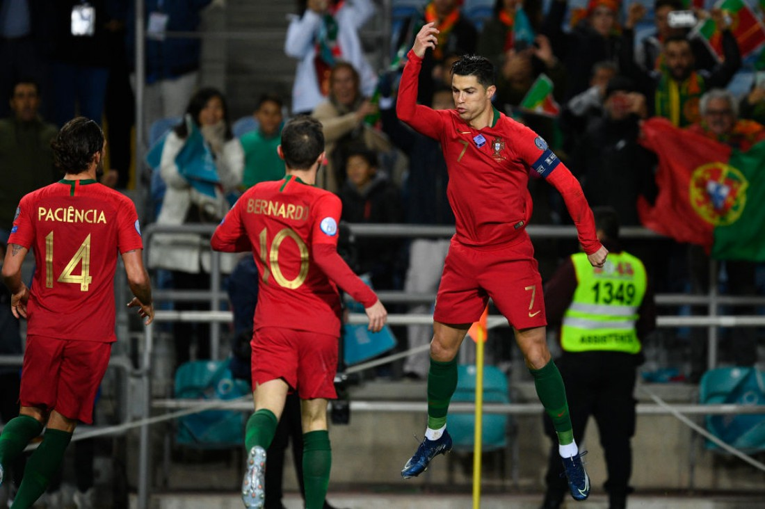 Португалия - Литва: видео голов