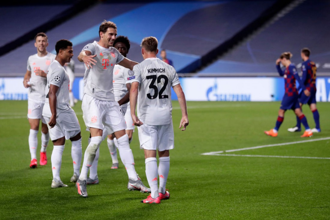 Бавария уничтожила Барселону и вышла в финал Лиги чемпионов
