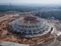 На стадионе ЧМ-2018 в Самаре рухнула часть конструкции