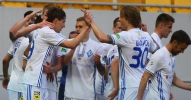 Верес - Динамо 1:4 видео голов и обзор матча