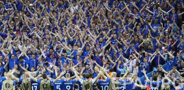 В Исландии пристально следят за успехами своей сборной