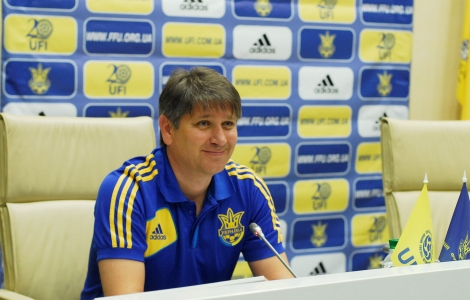 Главный тренер молодежной сборной Украины Сергей Ковалец
