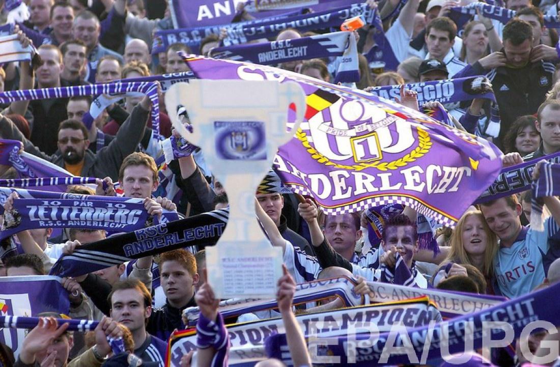 Поклонники брюссельского клуба