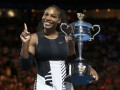 Серена Уильямс - победительница Australian Open-2017