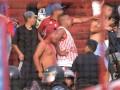 Аргентинская полиция арестовала более 100 фанатов, устроивших драку на стадионе