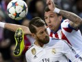Атлетико - Реал: Как Рамос пустил кровь Манджукичу в матче Лиги чемпионов