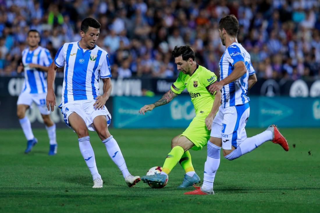 Леганес вырвал победу у Барселоны