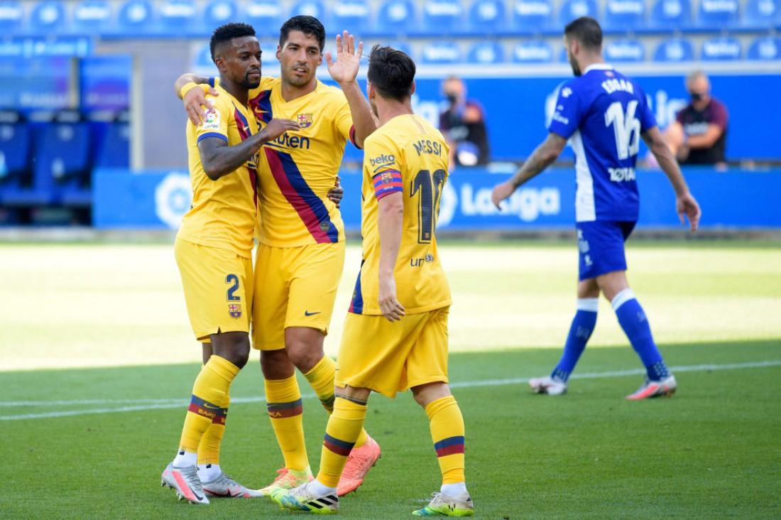 Алавес - Барселона: видео голов и обзор матча