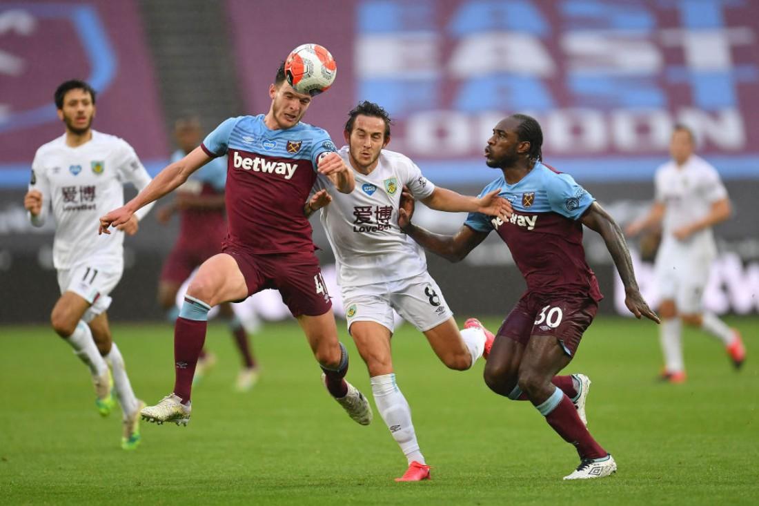 Вест Хэм - Бернли: видео гола и обзор матча